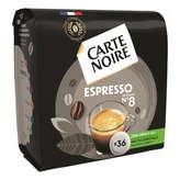 Carte Noire CARTE NOIRE Expresso - 36 Dosettes - Intensité 8 - Café - 250g