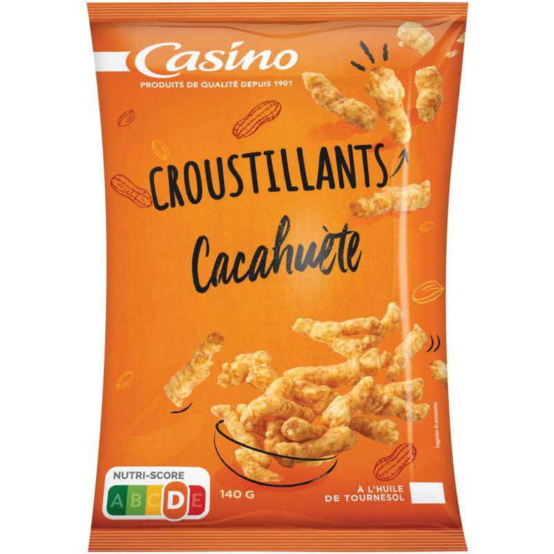 CASINO Croustillants t Biscuits apéritifs - Goût cacahuète