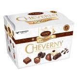 Assortiment de chocolats sans alcool Cheverny Plaisir CEMOI, ballotin de 210g