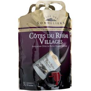 Côtes du Rhône Villages - Vallée du Rhône - Vin rouge - Alc. 13% vol.