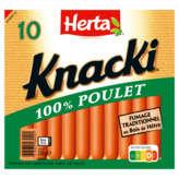 Herta Herta Knacki Poulet Plet - X 10 350g
