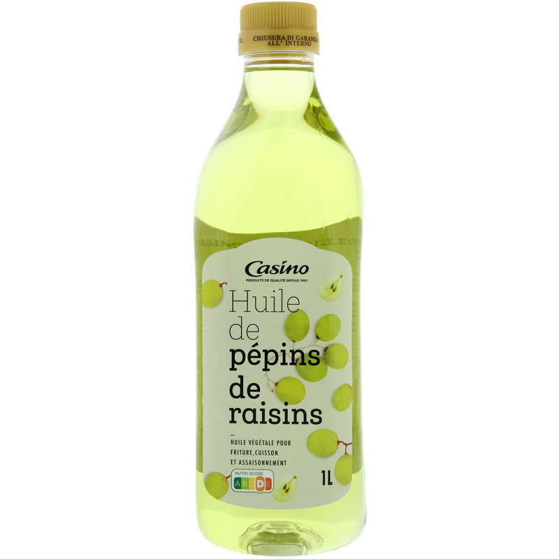 CASINO Huile de pépins de raisins