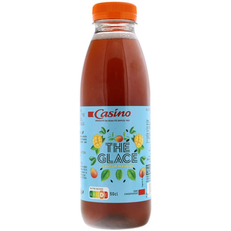 CASINO Thé glacé - Saveur mangue
