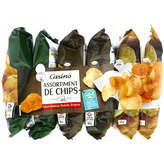 CASINO Assortiment - Chips - Saveur Barbecue - Sav