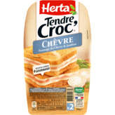 Herta HERTA Tendr croc' - Croque monsieur - Fromage de chèvre - Ja... - 200g