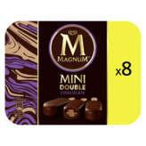 Magnum MAGNUM Mini double - Bâtonnets glacés - Chocolat - 8 bâtonne... - 400g