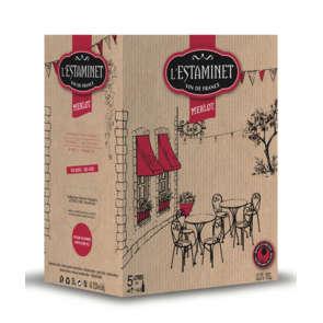 Estaminet - Merlot - Vin rouge