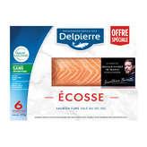 Delpierre Saumon Fumé D'ecosse - Sélection Belles Tranches- ...