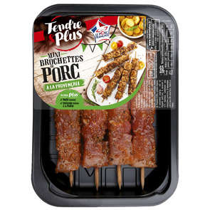 Mini brochettes de porc à la provençale - x4
