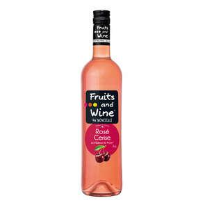 Vin rosé - Arôme cerise
