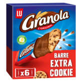 LU GRANOLA Barre extra cookie - Gouter enfant - 168g
