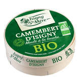 Isigny Sainte-Mère Camembert - 22% Mg - Biologique - 250g