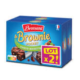 Brossard Mini-brownie Chocolat Noisettes - 2x240 G