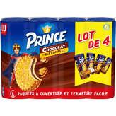 LU Lu Prince - Biscuits Goût Chocolat - 4x300g