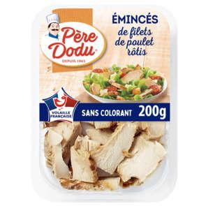 Emincés de filet de poulet nature