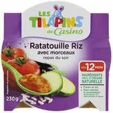 Assiette ratatouille riz 230g