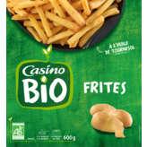 CASINO BIO Frites - Biologique 600g