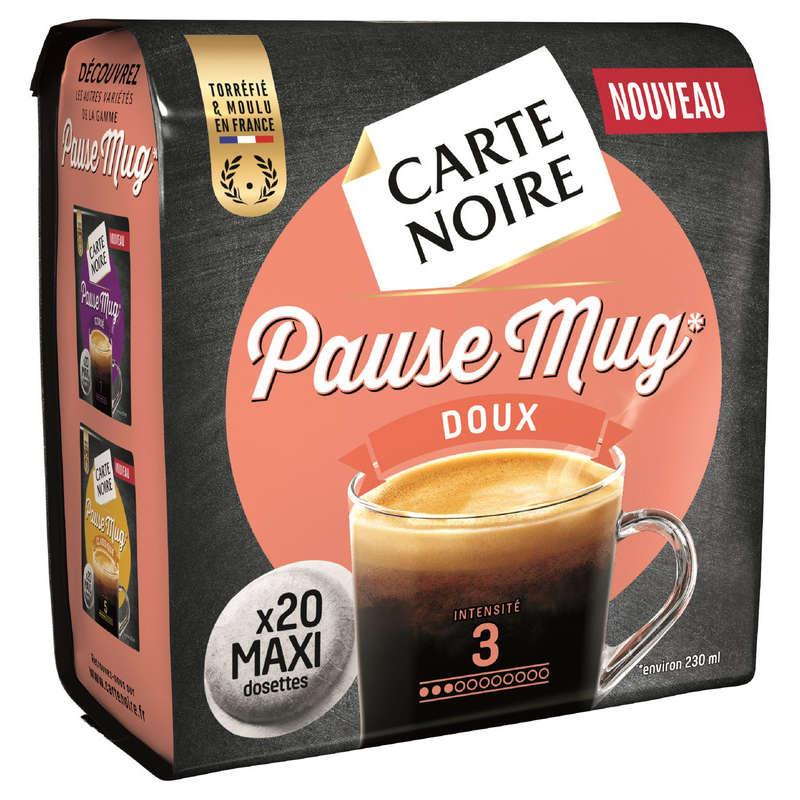 Pause Mug - Café en dosettes maxi souples - Doux - Intensité 7