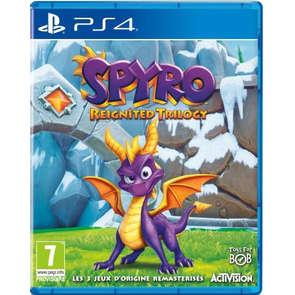 Jeu PS4 Spyro Reignited Trilogy