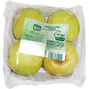 Pommes jaunes - Cat. 2 - Biologique