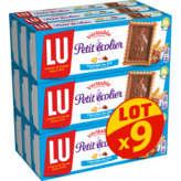LU LU Petit écolier - Biscuits au lait - 9x150g