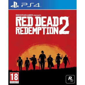 Jeu PS4 Red Dead Redemption 2