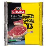Charal Entrecôtes - X3 - 560g