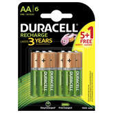 Duracell Piles Rechargeables Aa - X6