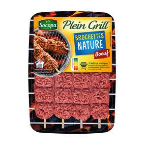 Plein Grill - Brochette de bœuf nature - x4