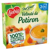 Liebig Pur Soup - Velouté Potiron À La Crème Fraiche - 2x30cl