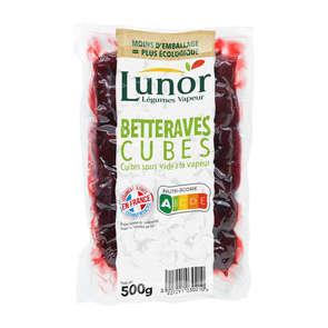 Légumes vapeur - Betteraves en cubes