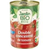 Jardin Bio JARDIN BIO Double concentré de tomates - Biologique - 140g