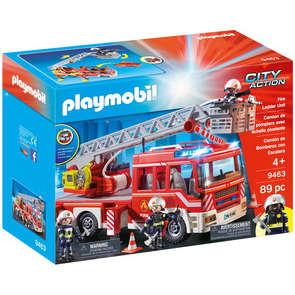 Camion Pompiers Echelle Pivotante