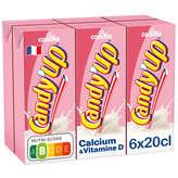 Candia Candia Candy'up Boisson Lactée Fraise - 6