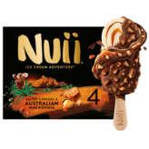 Nuii NUII Ice cream adventure - Bâtonnets glacés - Caramel salé e... - 272g