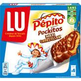 Lu Pépito pockitos barre x6 chocolat lait 162g - ( Prix Unitaire ) - Envoi Rapide Et Soignée