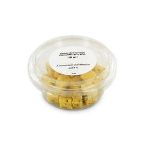 Cubes de fromage Ciboulette - 30,4% mg