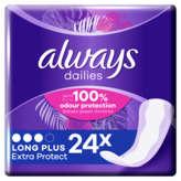 Always P&g  - Dailies - Protège-slips Long Plus - Acti Pearls...