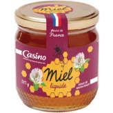 CASINO Miel liquide - Fleurs de France 375g