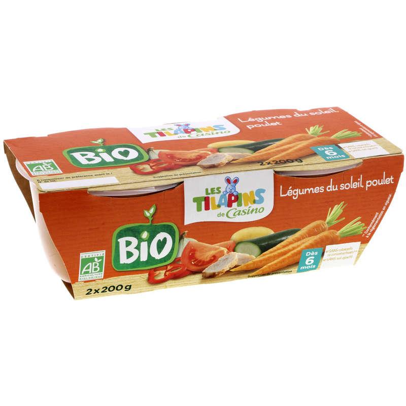 LES TILAPINS BIO Bol - Légumes du soleil - Poulet - Biologiq...