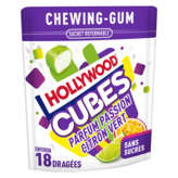 Hollywood Cubes - Chewing-gum - Parfum Passion Et Citron Ver... - 41g