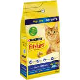 Friskies PURINA Friskies - Croquettes pour chats - Stérilisés - 4.5kg