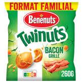 Bénénuts Twinuts - Cacahuètes Enrobées - Goût Bacon - 260g
