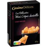 Crèpes dentelle - Fourrage au bacon - Fines e...