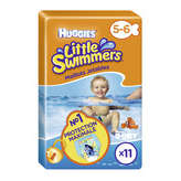 Huggies Little Swimmers - Maillot De Bain Jetable - Taille 5/6 - 12-18kg X11