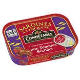 Connetable sardines à l'huile d'olive et aux tomates sechées 1/6 115 g (Prix Par Unité) Envoi Rapide Et Soignée
