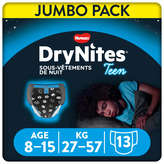 Huggies Huggies Drynites - Sous Vetements De Nuit - De 8 À 15 Ans - X13