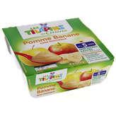 Compote bébé pomme banane 4x100g