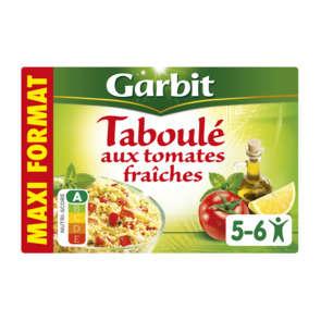 Taboule aux des de tomates fraiches, a l'huile d'olive vierge extra, citron & feuilles de menthe, la boite,730g