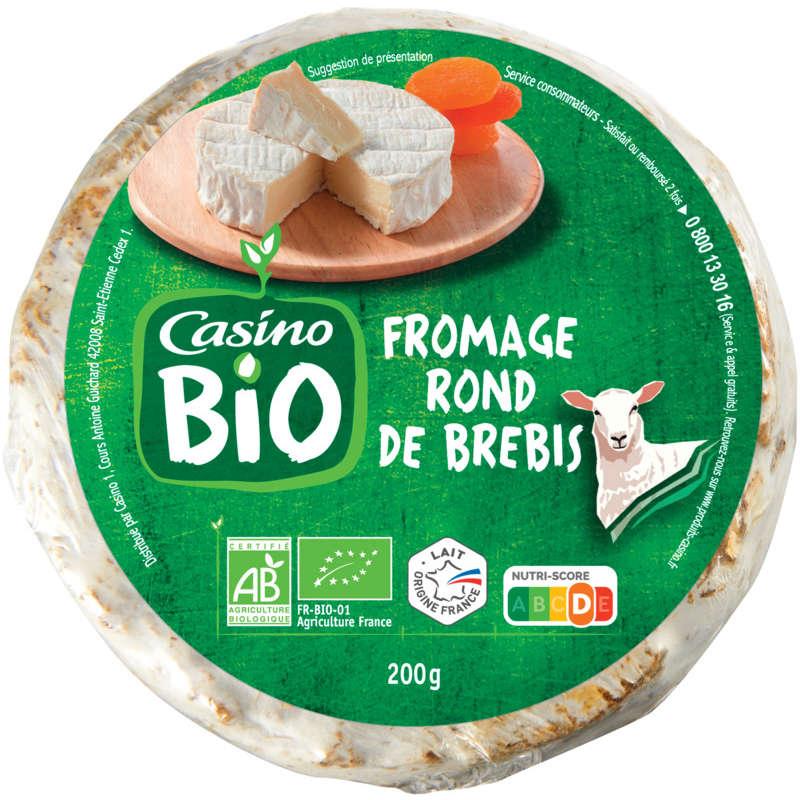 CASINO BIO Fromage rond de brebis - Biologique